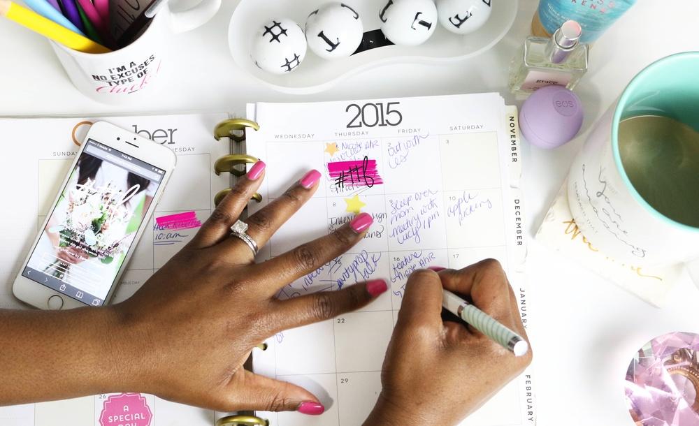 Make lists.