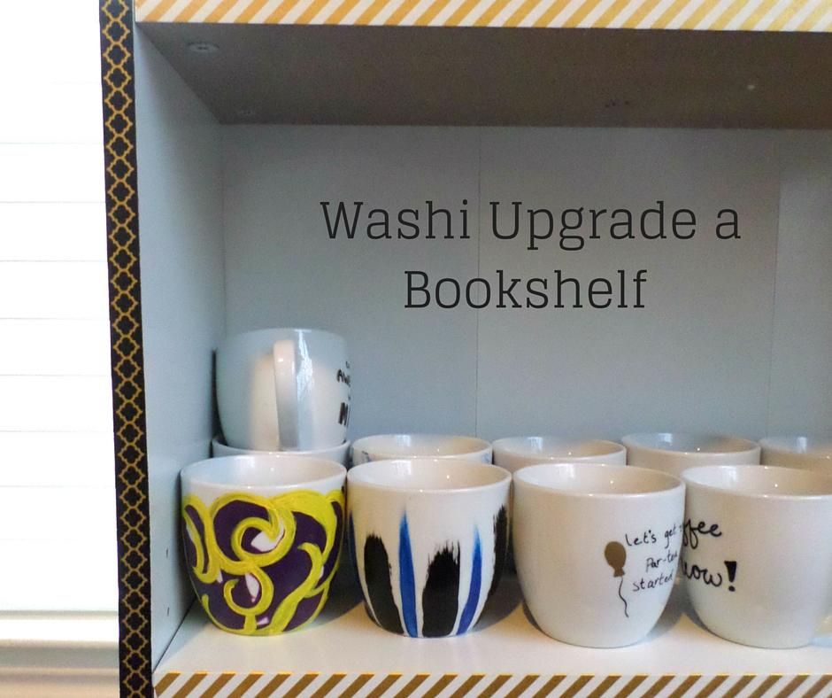 Washi tape furniture upgrade