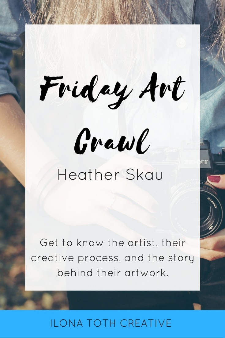 Get to know this week's Friday Art Crawl featured artist, Heather Skau of Catch a Star Fine Art Photography. Get a peek inside her process as an artist. | Ilona Toth Creative