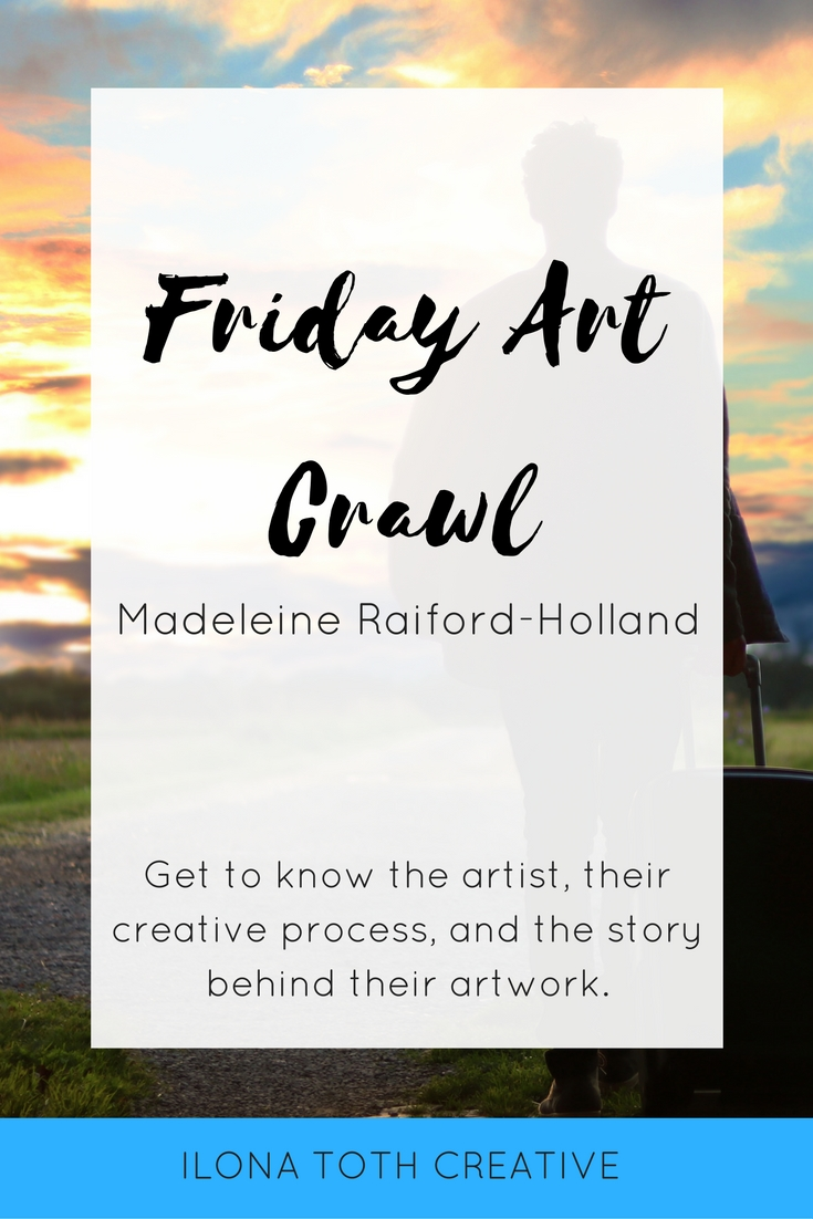 Get to know Madeleine Raiford-Holland of Special Event Keys, this week's featured artist on Friday Art Crawl. | Ilona Toth Creative