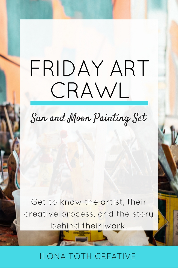 Get art inspiration and learn about an artist's creative process with Friday Art Crawl. | Ilona Toth Creative