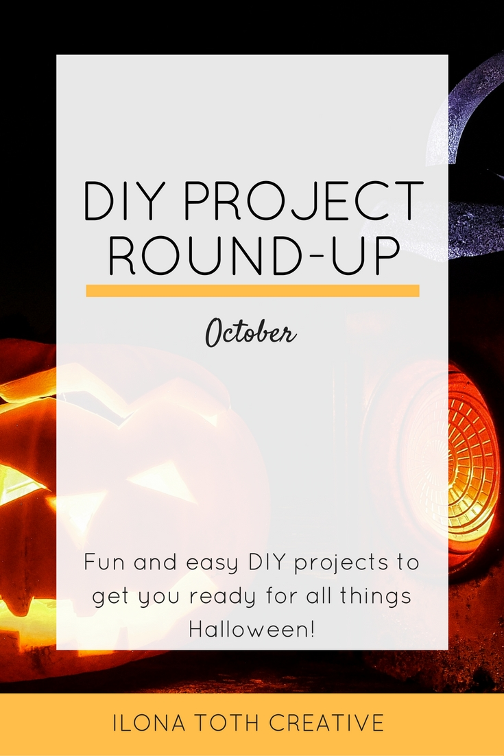 October is here so that means it's time to get ready for Halloween with all things DIY! | Ilona Toth Creative