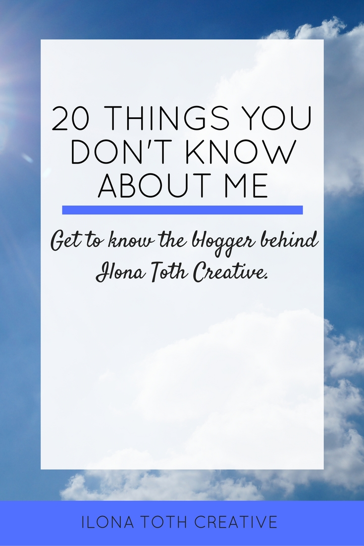 Get to know the blogger behind Ilona Toth Creative.