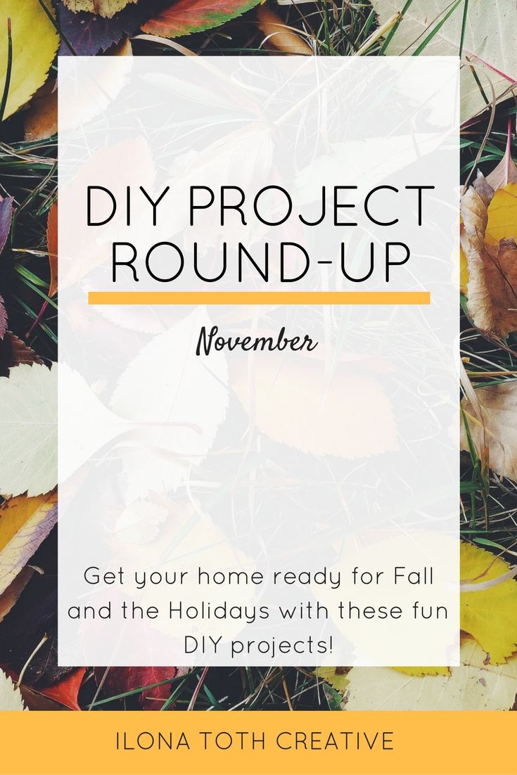 Get your home fall ready with these fun and easy DIY projects! | Ilona Toth Creative