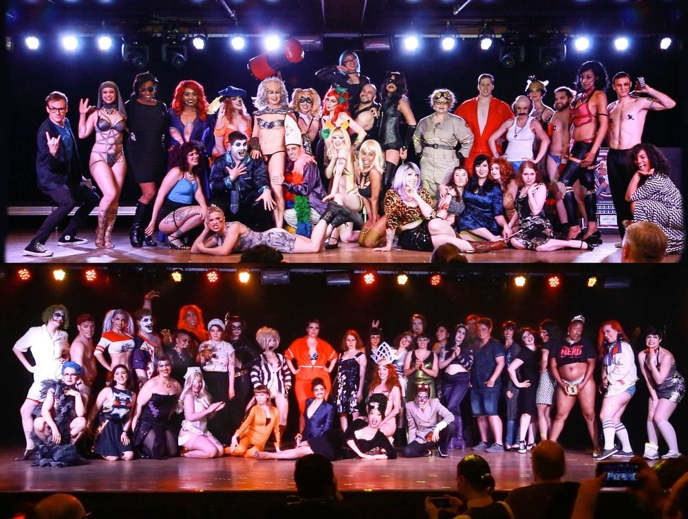The Cast of the 2017 International Nerdlesque Festival   Photo by Honey Beavers / @ohhoneybeavers
