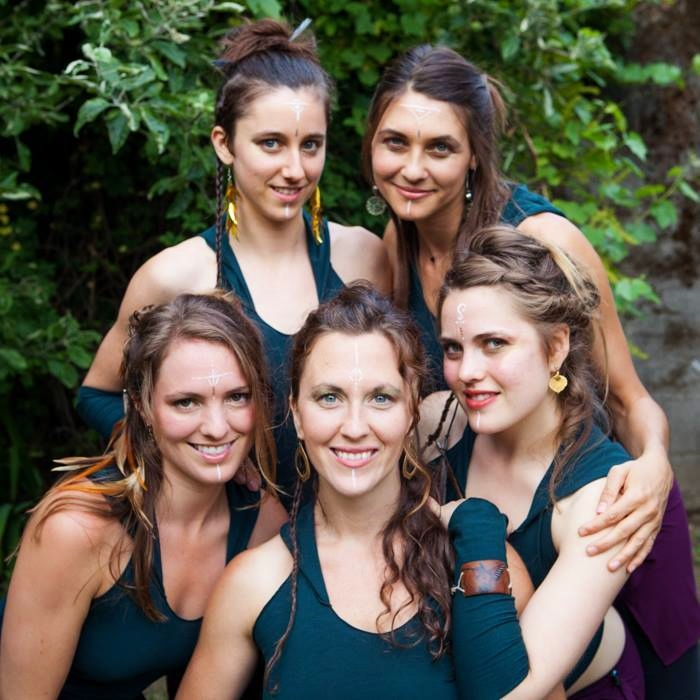 Attunement Movement Dancers: Kristina Pescatore, Jess Young, Liza Walker, Mikaela Schey, Kristal Passy. Photo by Kristal Passy Photography 2015
