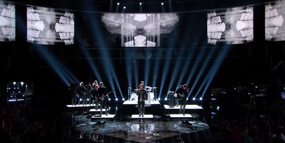 "One Republic Performing ""Wherever I Go"" on The Voice USA"