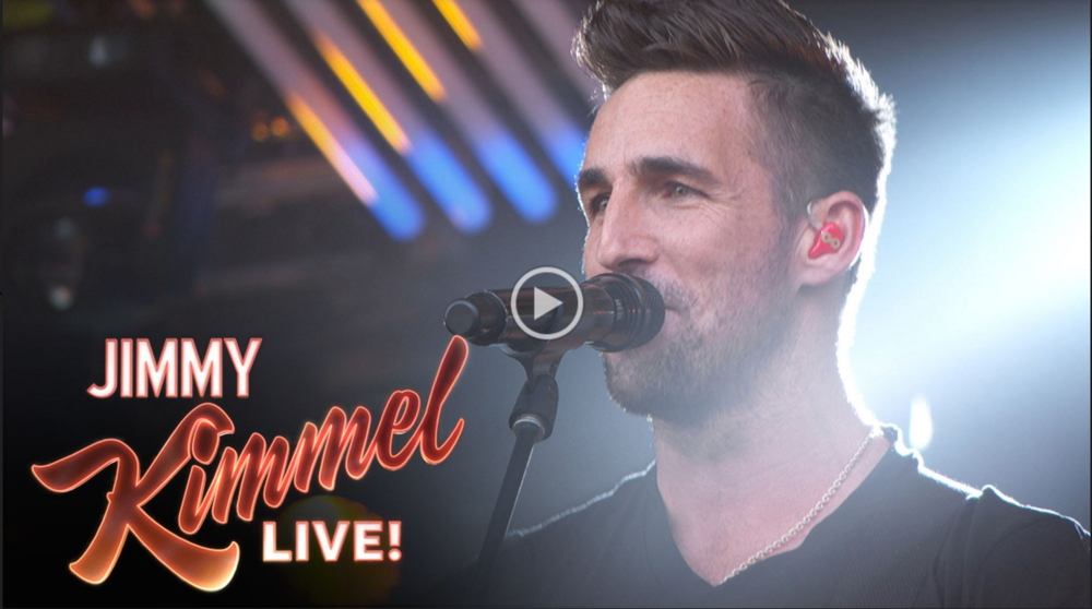"Jake Owen performs ""American Country Love Song"" on Jimmy Kimmel Live"