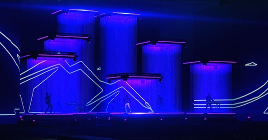 @childishgambino stage renders for #coachella #stagedesign #lightingdesign