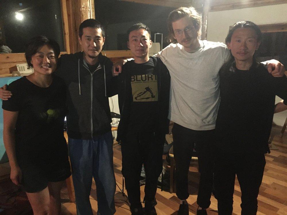TW, Deng Boyu, Lao Dan, John McCowen, Li Xing