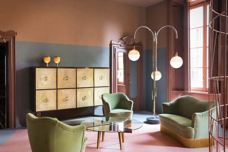 Dimore Studio, Milan - Image courtesy alterazioniviniliche.blogspot.com