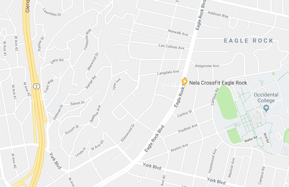 Nela CrossFit Eagle Rock - 4662 Eagle Rock Blvd., Los Angeles, CA 90041