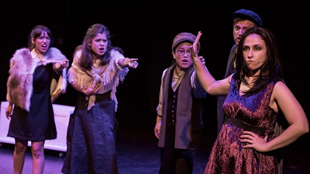 Three fantastic shows of Into the Woods down, five more to go! Get your tickets now. Photo by @benfon