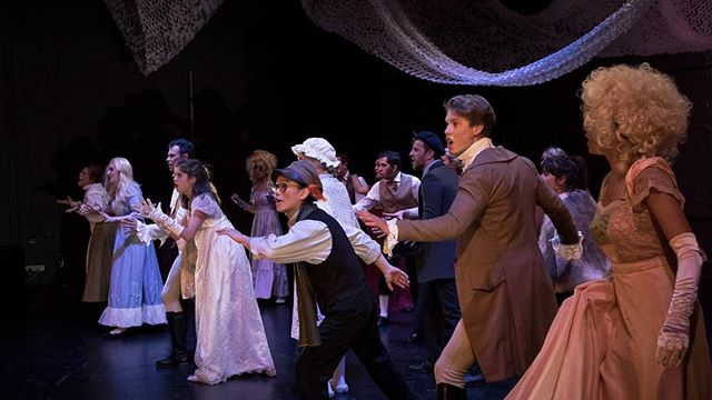 """Congratulations to the #intothewoods cast and crew on a wonderful review from @theatrepeopleau as we enter our final performance week. """"BottledSnail delivers a captivating and thoughtful production, full of fabulous singers backed by an incredible band. So stop wishing, and book your tickets now.  4.5/5""""  Photo by @benfon"""