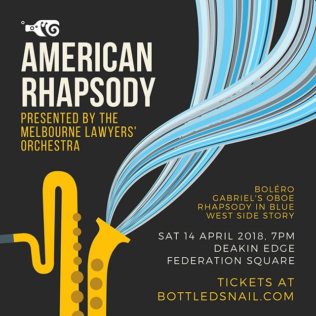 "The Lawchestra is back, kicking off 2018 with ""American Rhapsody""! Get ready to shake things up with West Side Story, Rhapsody in Blue, Bolero and Gabriel's Oboe 💃 🎺🎷🥁🎻 Tickets via link up top 👆"