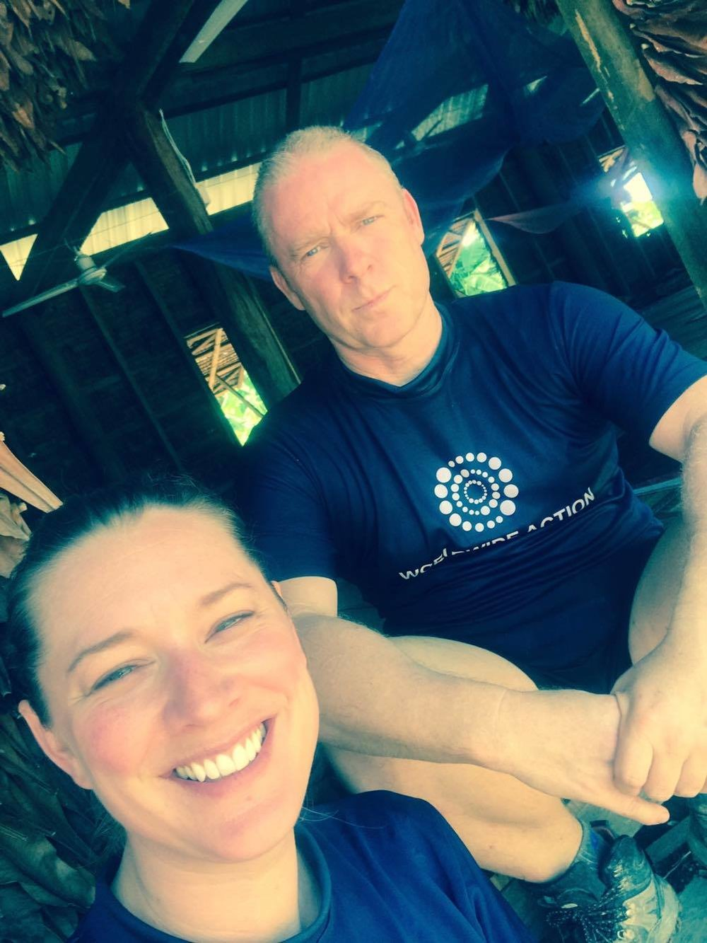 Laura was inspired to volunteer by Graeme, her cousin and the founder of the charity