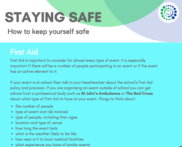 Staying safe guidelines