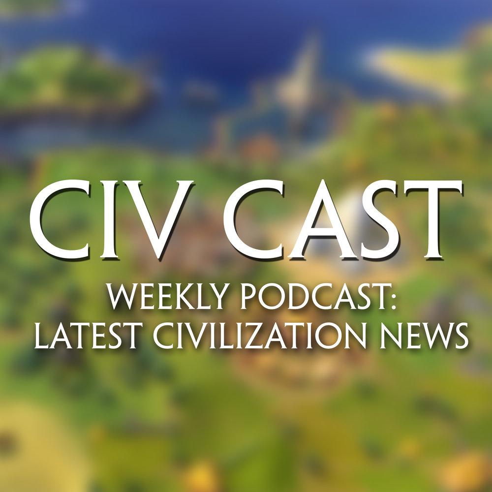 Civ Cast Logo
