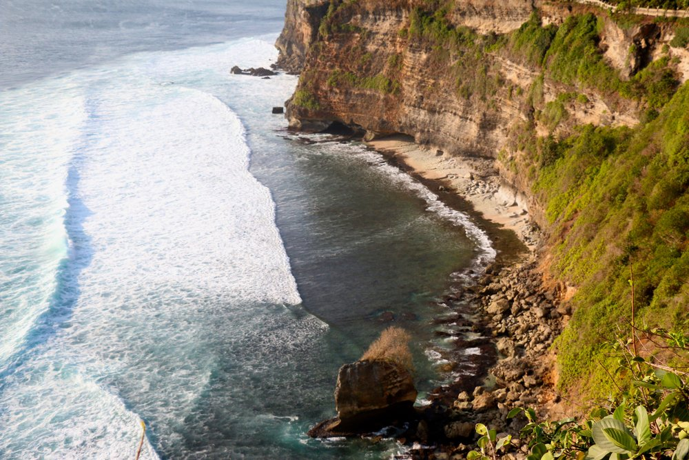 Hike along the cliffs and admire these breathtaking views before you watch the Kecak Dance during sunset