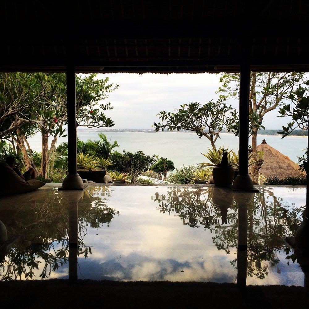 Lobby @Four Seasons Jimbaran Bay Bali