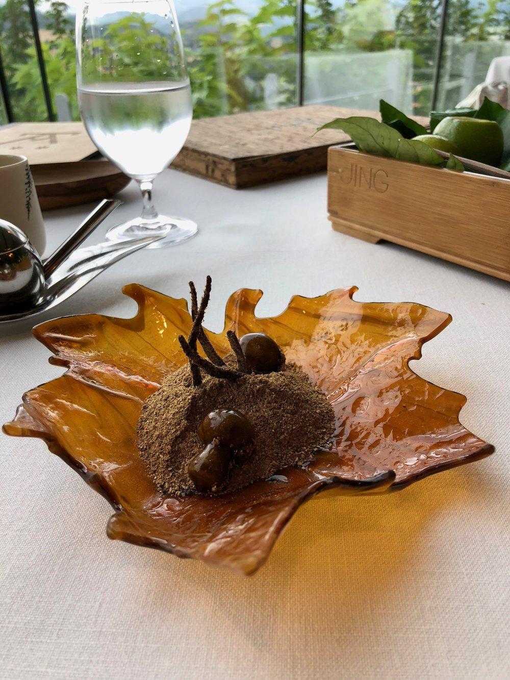 12. Mushroom Praline