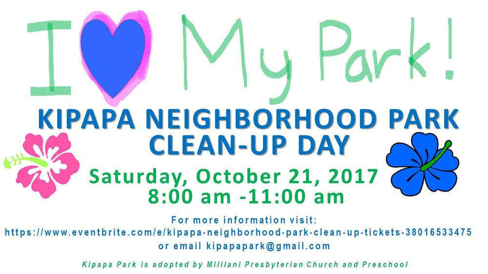 Kipapa Park Clean Up
