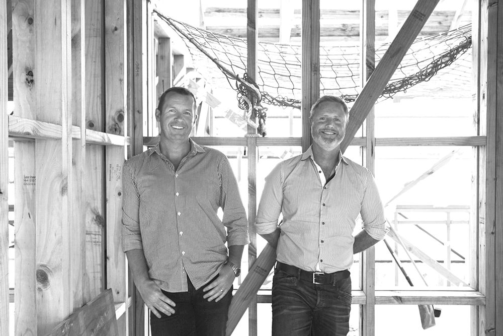 Scott Harris and Vincent Sanders, directors of My Build Sorted.