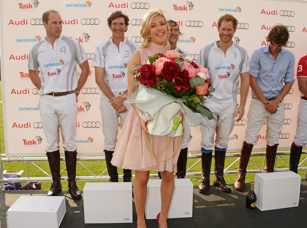 In Water Flowers for Audi Polo Challenge