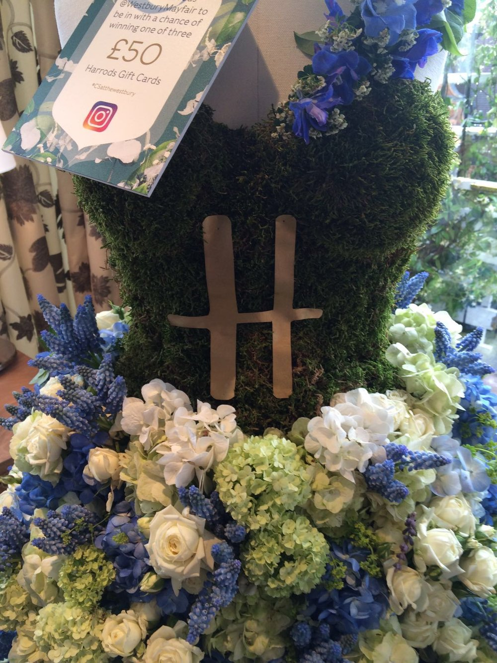In Water Flowers for Harrods Summer Showcase