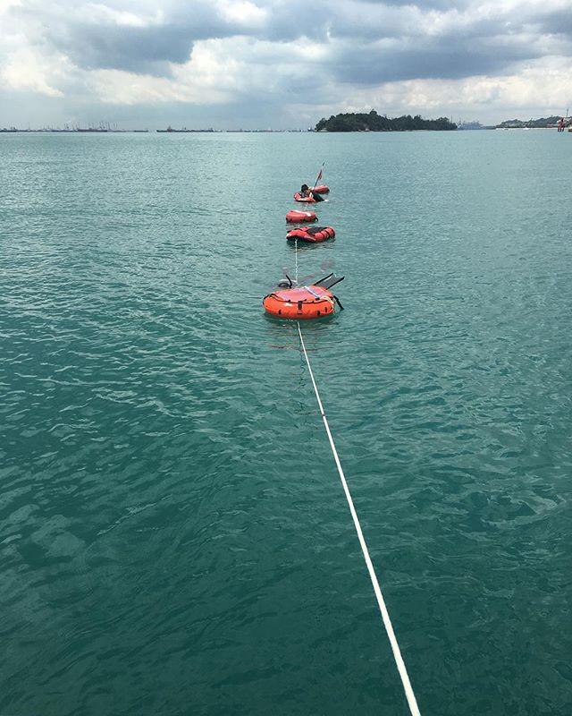Beautiful weather for a dive... #freediving #exploreyourzen #singapore