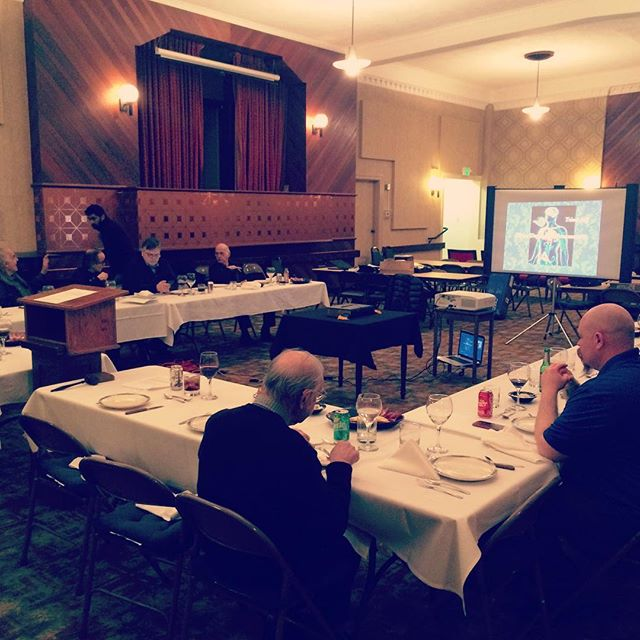 Our January Lodge of Education in session
