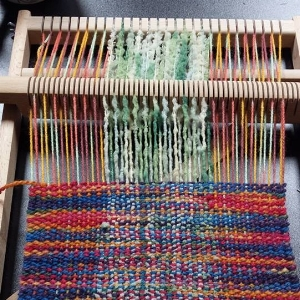 Introduction to Weaving small loom