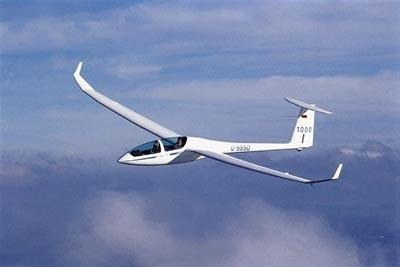 two-seater glider