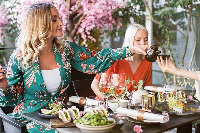 Välkomna på middag i vår japanska trädgård 🌸#wearekasai #kasaisthlm