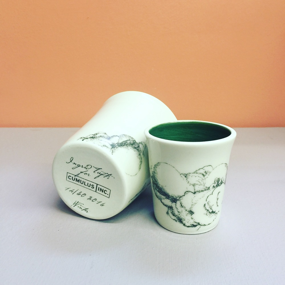 Ongoing Commission, custom seasonal Cumulus Inc. Latte Cups