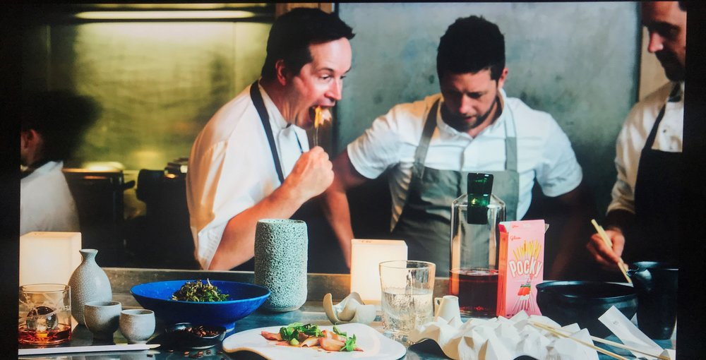 Chefs hard at work in Supernormal... - The perfectly timed photograph.