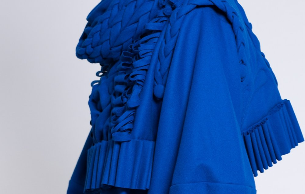 Image: Nigel Vogler, The Blue Bastard, 2017.Photographer: Zalina Rosli. Model: Louis Cooper (DUVAL Agency)