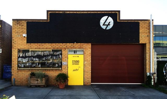 Outside the Nothcity4 studio in Brunswick, image courtesy Northcity4