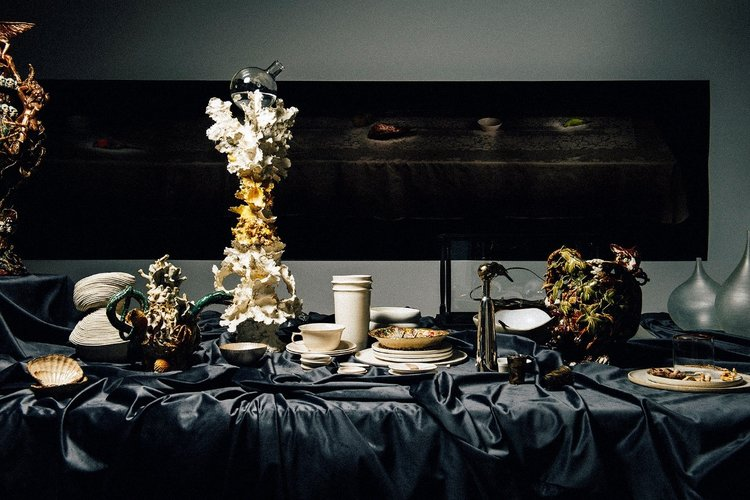 Regale - Crafting the Table,   installation view, photo: L Bamford & S Somebody