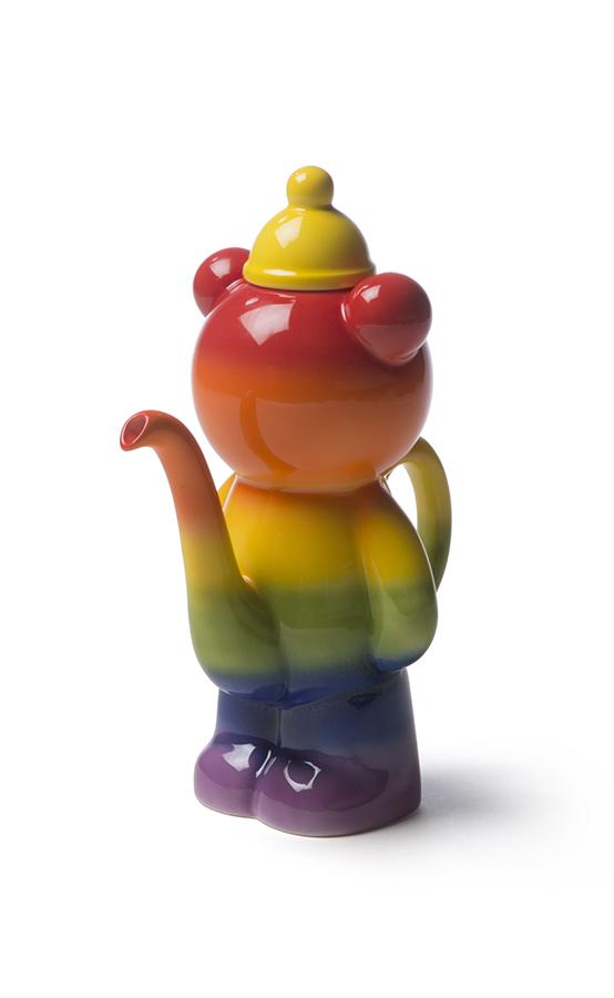 Rainbow Pee Bear Teapot 2017 by PeeBEAR Design (Vipoo Srivilasa)Image courtesy of the artist)