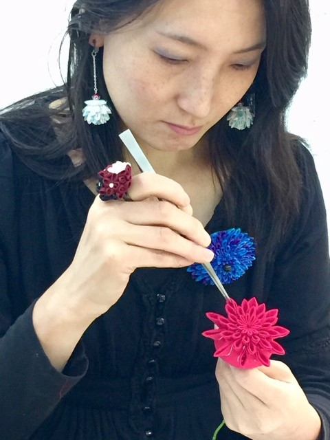 Tsumami-Zaiku Jewellery Workshop -