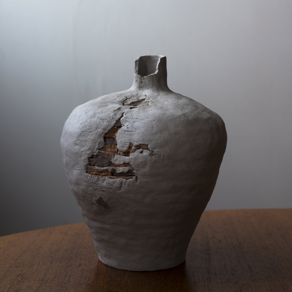 Nora Thamthanakorn,  Time Body 2 , 2018, Earthenware Clay, 19cmWx25cmHx19cmD. Image courtesy the maker.