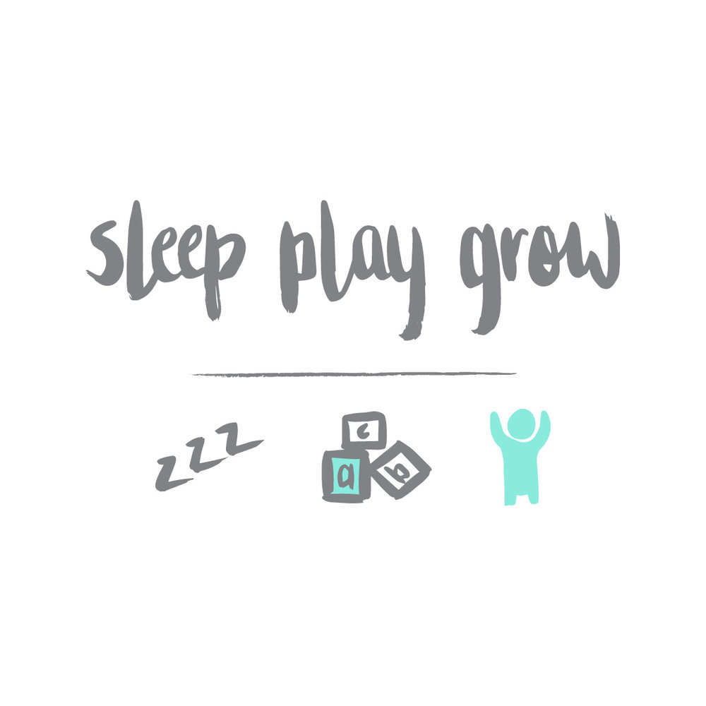 SLEEP PLAY GROW LOGO