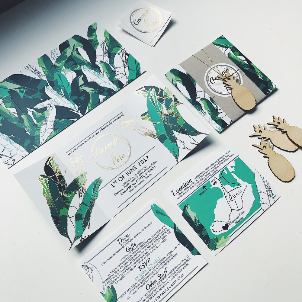 jungle leaf + gold foil 1.JPG