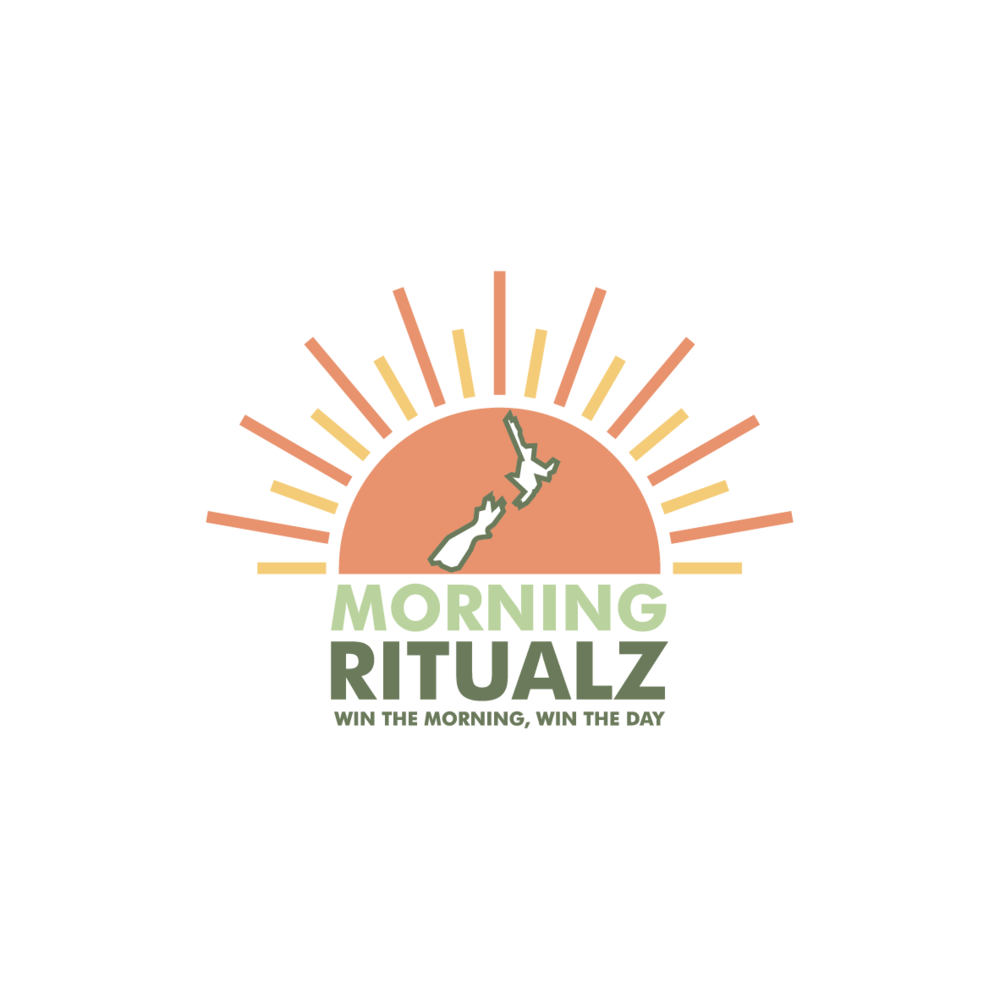 Logo design for Morning Ritualz - a New Zealand based start up with strong NZ roots and love for tea. Their first product is Instant Titanium Tea. -