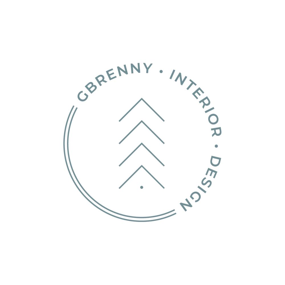 The construction of the logo represents the  fine art that is interior design while being balanced, using thin lines  and evoking it's welcoming appearance - showcasing the designers  knowledge of the interior design industry. - Logo process for Gbrenny Interior.