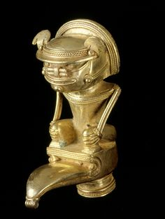 Figure featured in the Museo del Oro, San Jose.