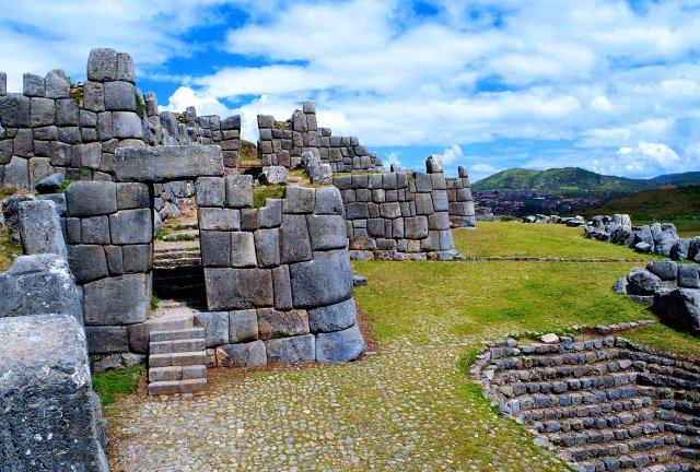The incredible Inca fortification of Sacsayhuaman overlooks Cuzco.