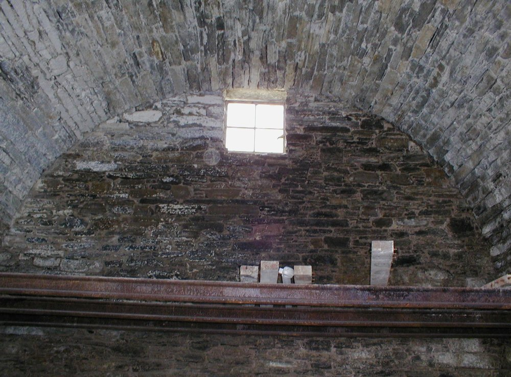 Upper window in Scrabster Ice House
