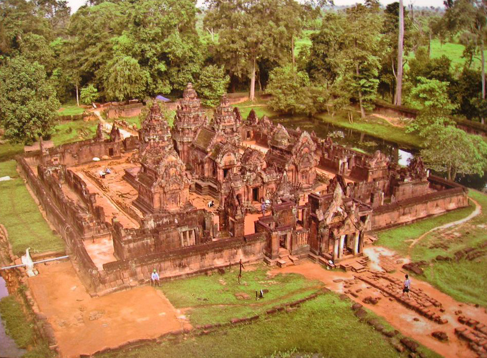 Figure 14: Banteay Srei miniature temple.